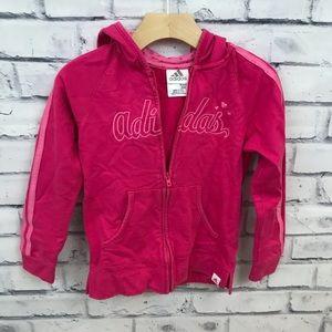 Adidas pink hoodie